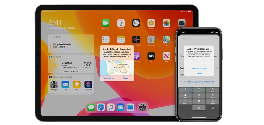 Apple quiere cambiar la verificacion en dos pasos a una por SMS