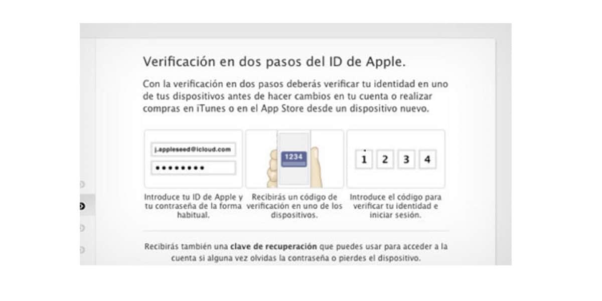Apple: La verificación en dos pasos quiere que cambie