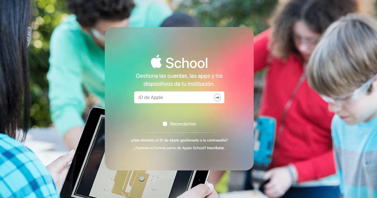 Apple permitirá a los desarrolladores crear aplicaciones para las escuelas