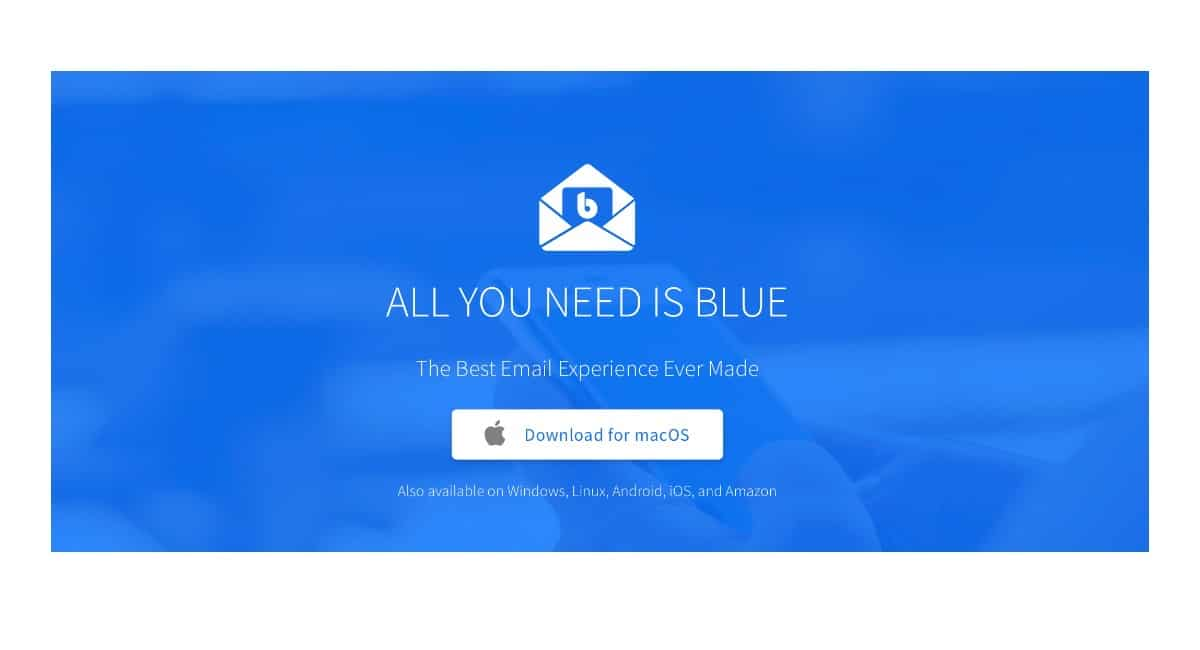 BlueMail regresa a macOS