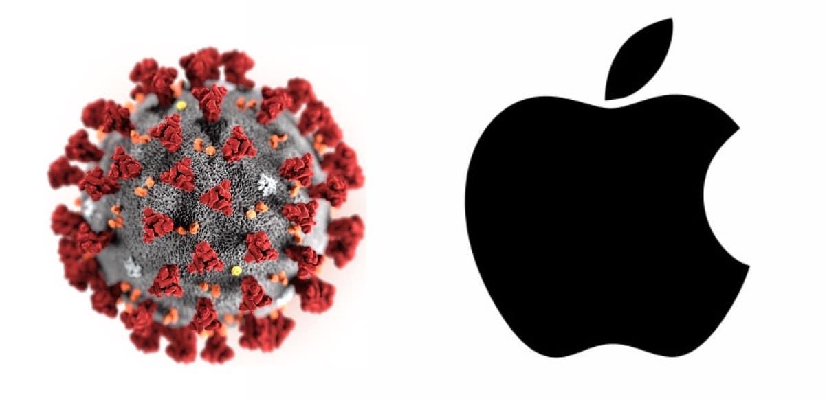 Noticias nuevas en relación entre Apple y Coronavirus