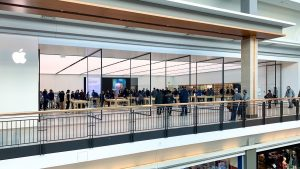 Reapertura de la nueva Apple Store en Toronto