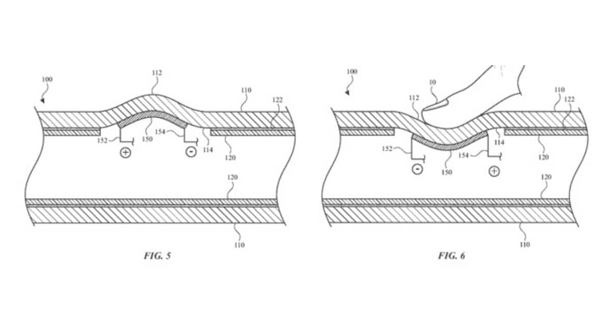 Una nueva patente muestra un Apple Pencil con sensores hápticos
