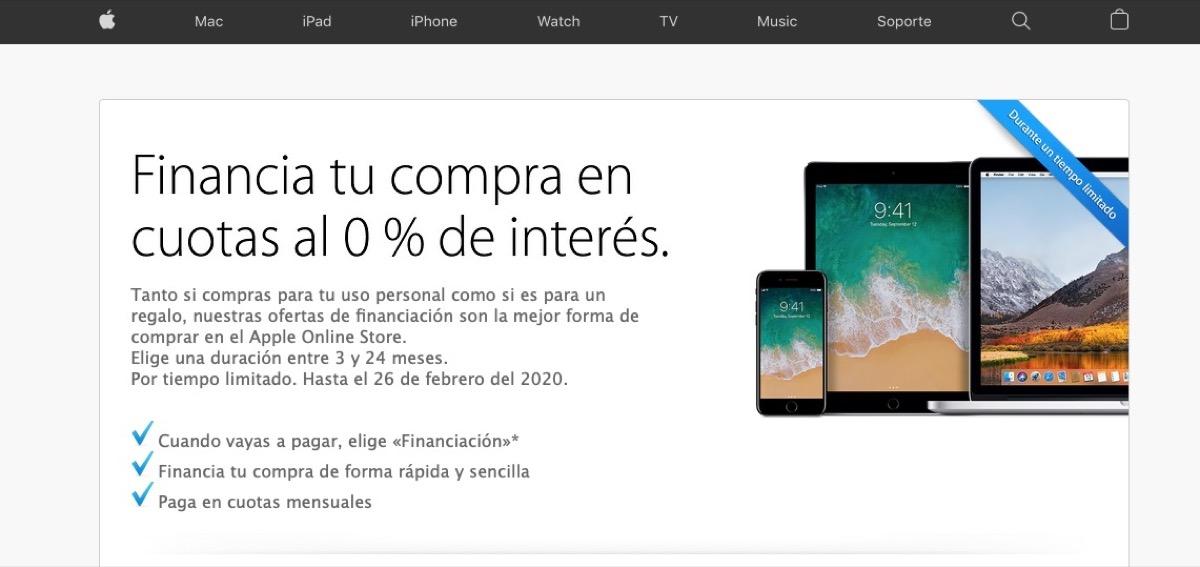 Financiación Apple