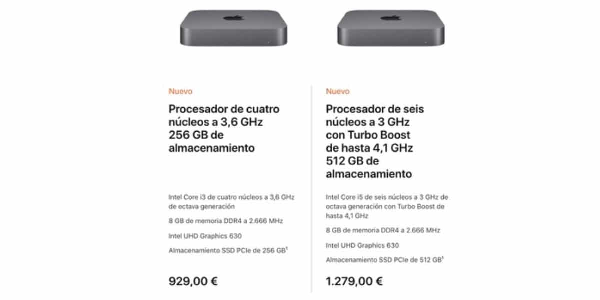 2 Mac mini