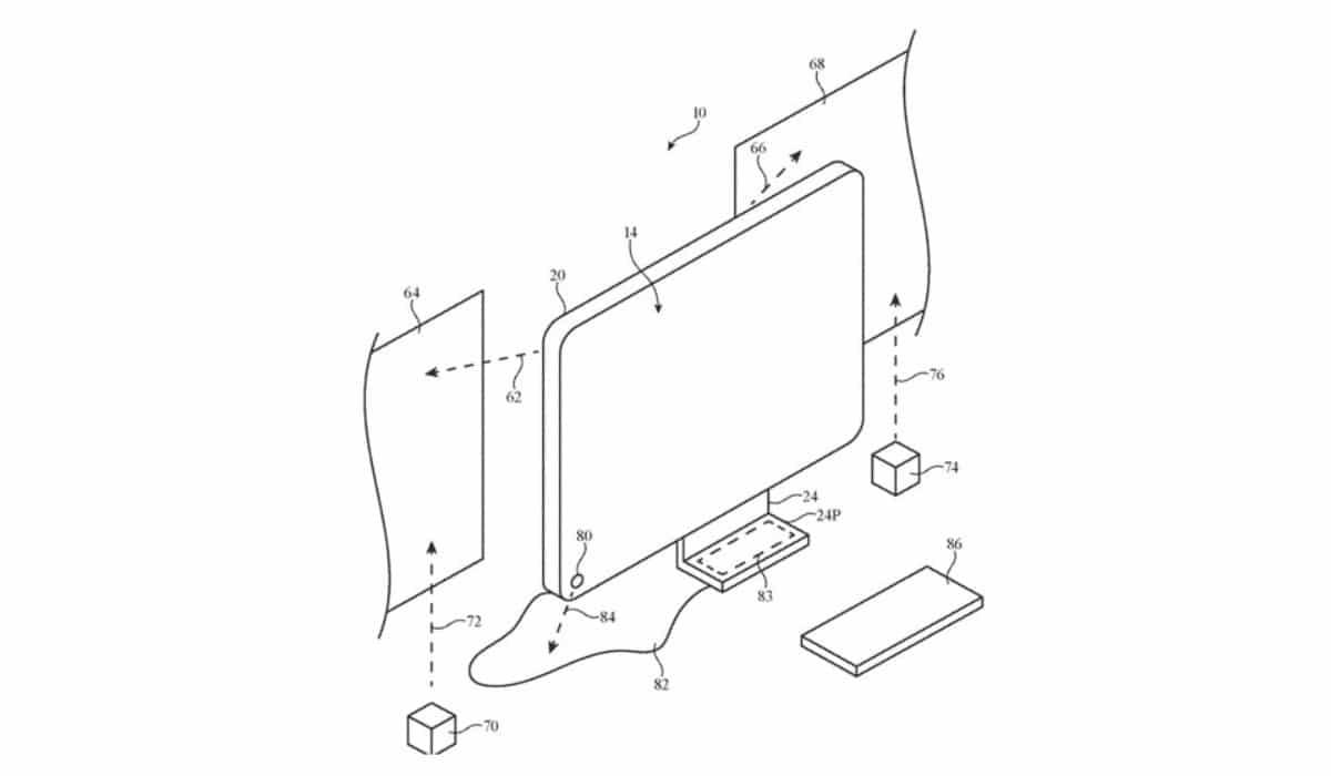 Nueva patente de Apple sobre el iMac