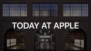 Los eventos de Today At Apple Cancelados en algunas ciudades de los EEUU