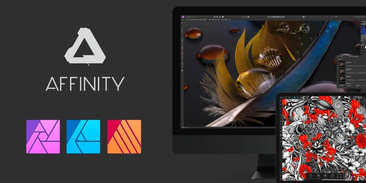 La suite Affinity vuelve a estar con un 50% de descuento