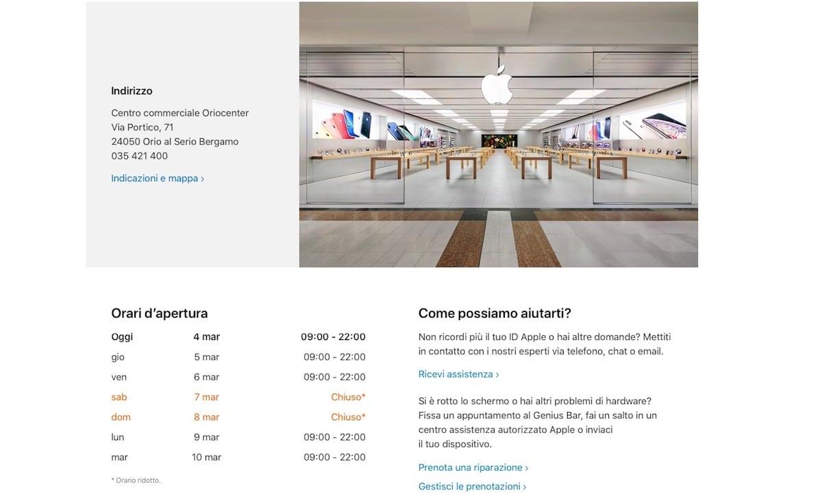 Apple Store Bergamo