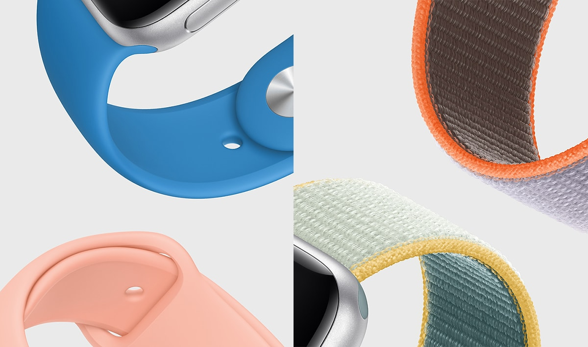 Apple Watch nuevas correas 2020