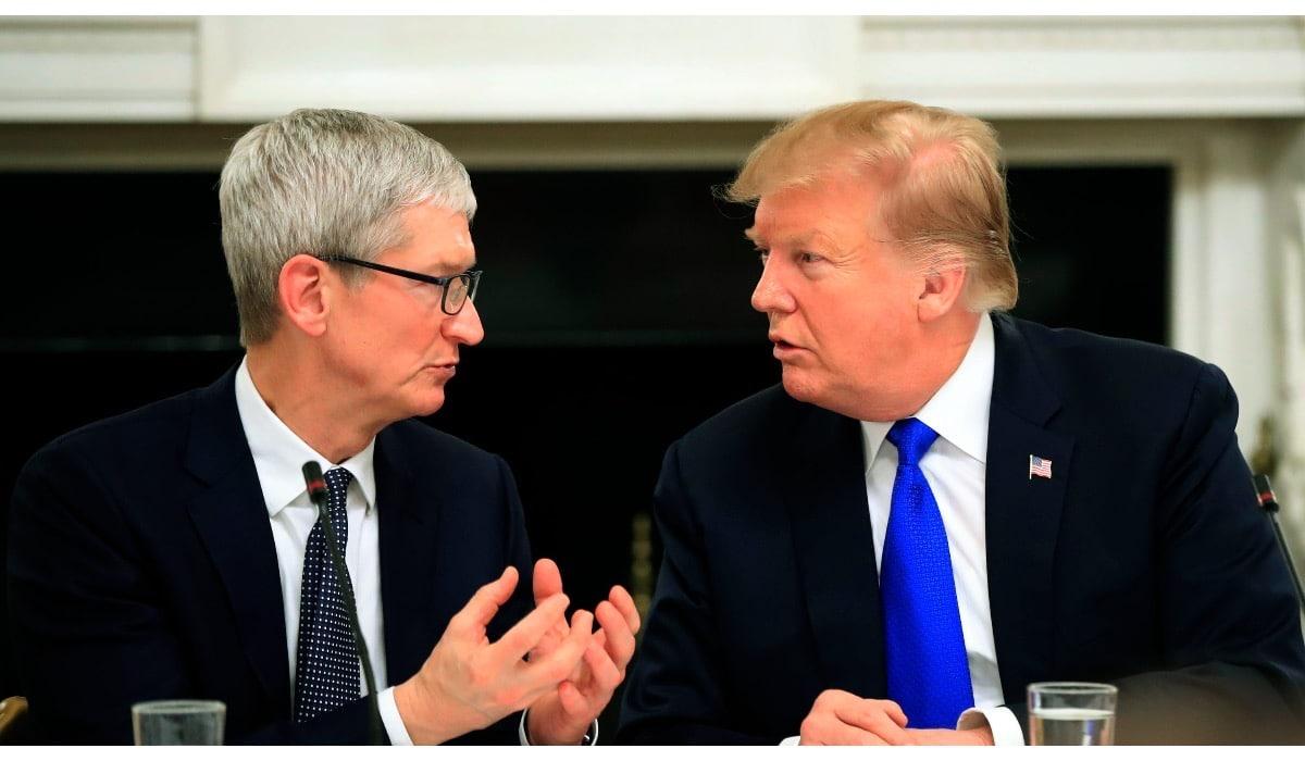 Trump y Cook hablan de economía