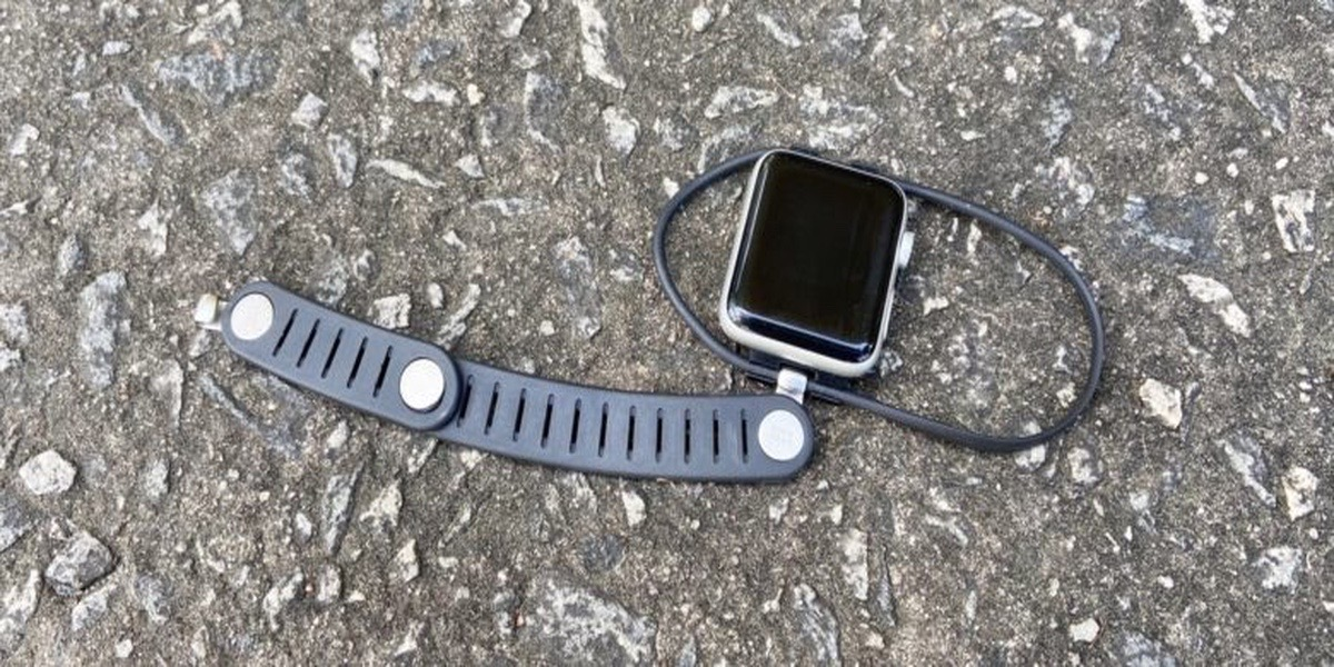 Esta correa para el Apple Watch es para corredores