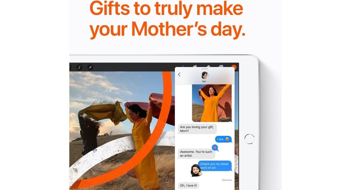 Ya es el día de la madre en Apple