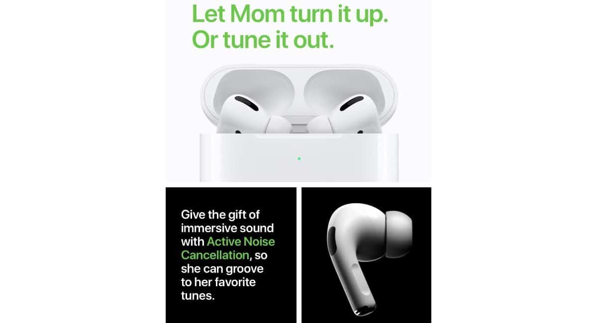 Día de la madre en Apple