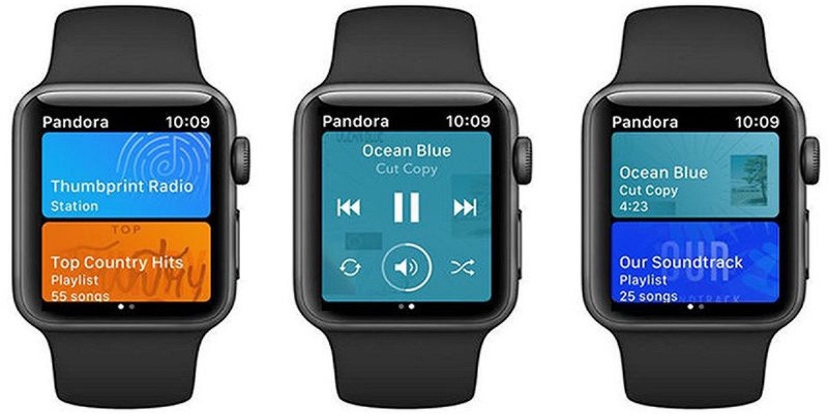 Pandora para Apple Watch se actualiza Siri
