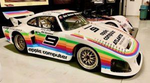 Se pone a la venta un Porsche 935 con los colores de Apple
