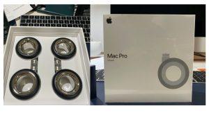 Kit de ruedas del Mac Pro