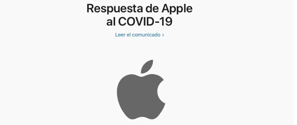 Apple covid