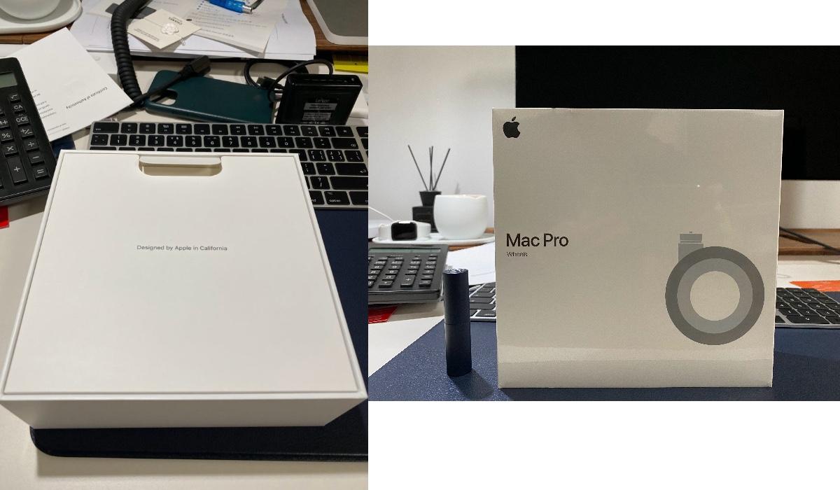 Caja del Kit de ruedas del Mac Pro