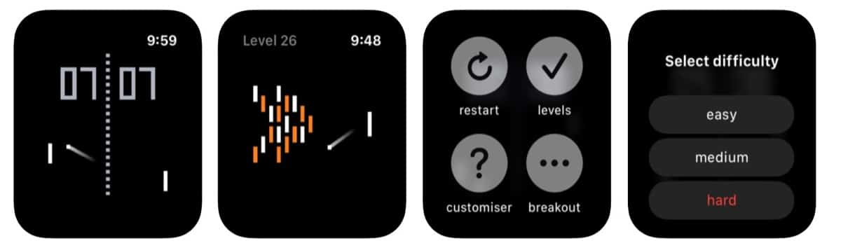 Juego Apple Watch