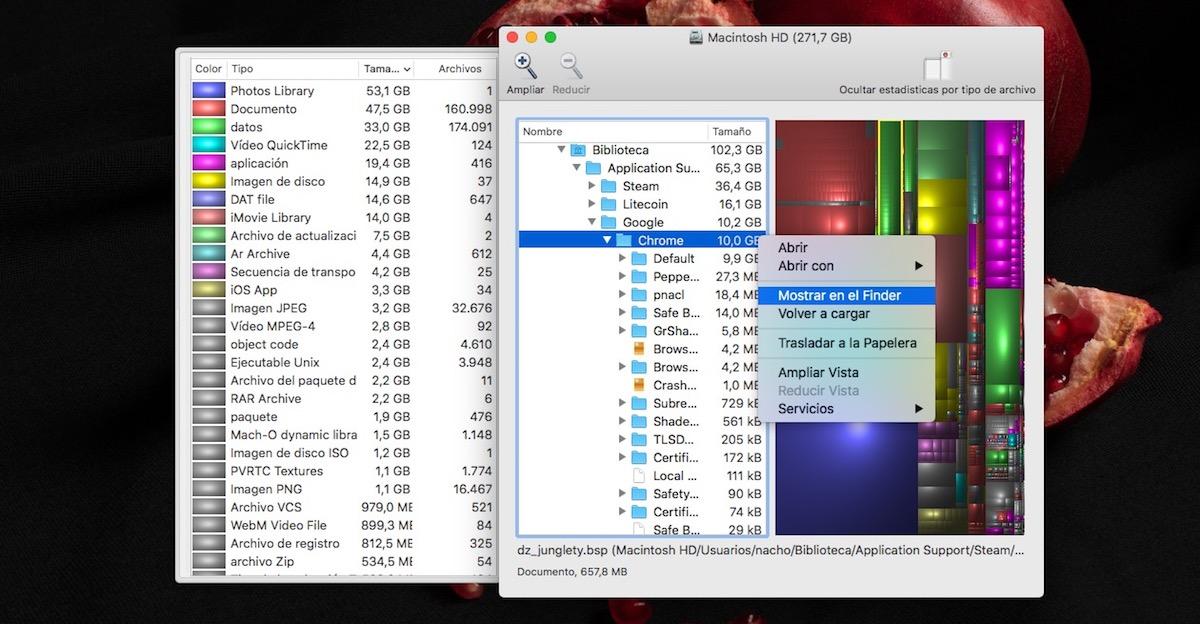 Cómo reducir el tamaño que ocupa el sistema en macOS