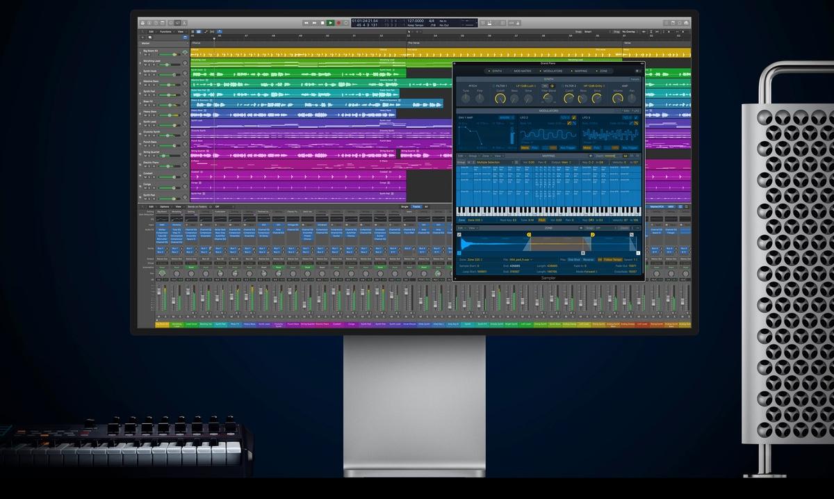 Actualización de Logic Pro para Mac