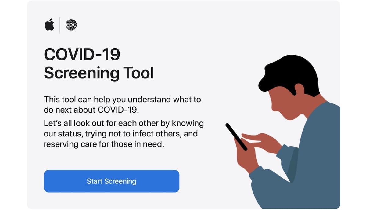 La App COVID-19 de Apple se actualiza
