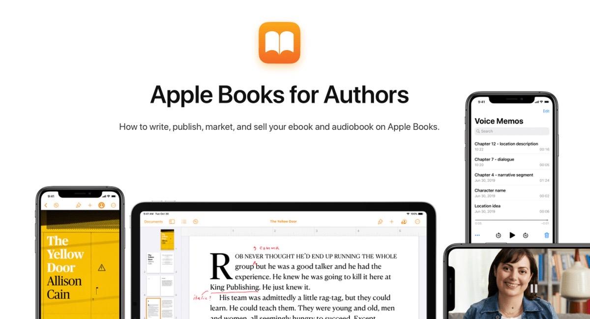 Apple Books para autores