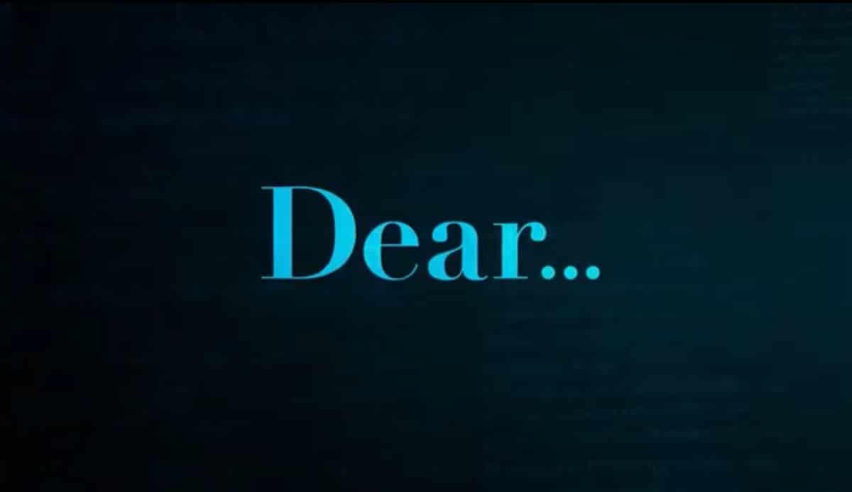 Tráiler de la serie Dear