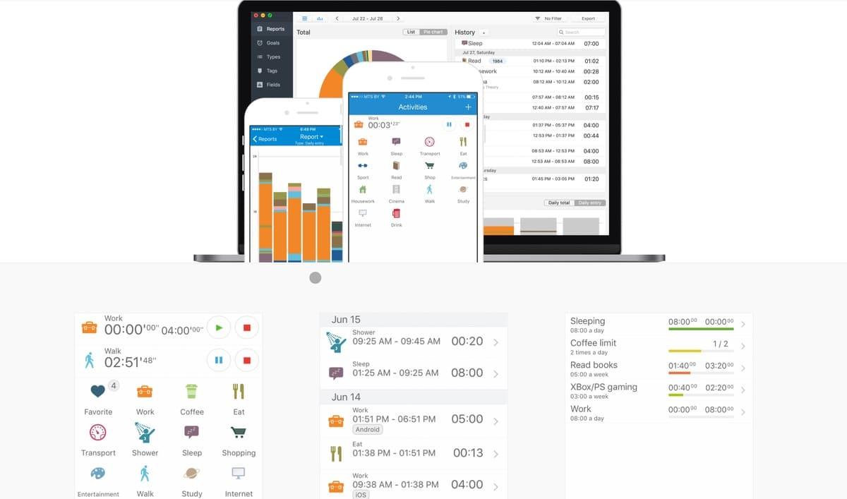 TimeTrack es una aplicación GTD para Mac