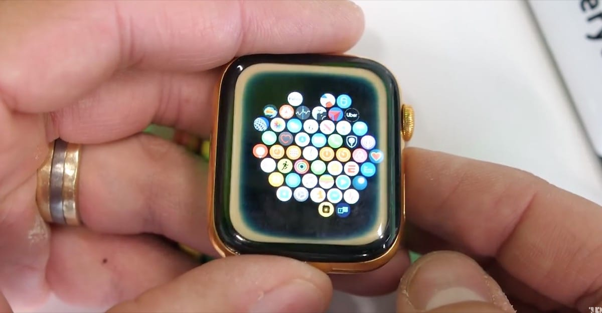 Apple Watch roto