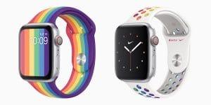 Nuevas correas para el Apple Watch conmemorando el día del Orgullo