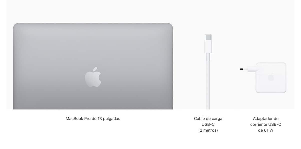 Cargador no de 87 W del nuevo MacBook Pro de 13 Pulgadas