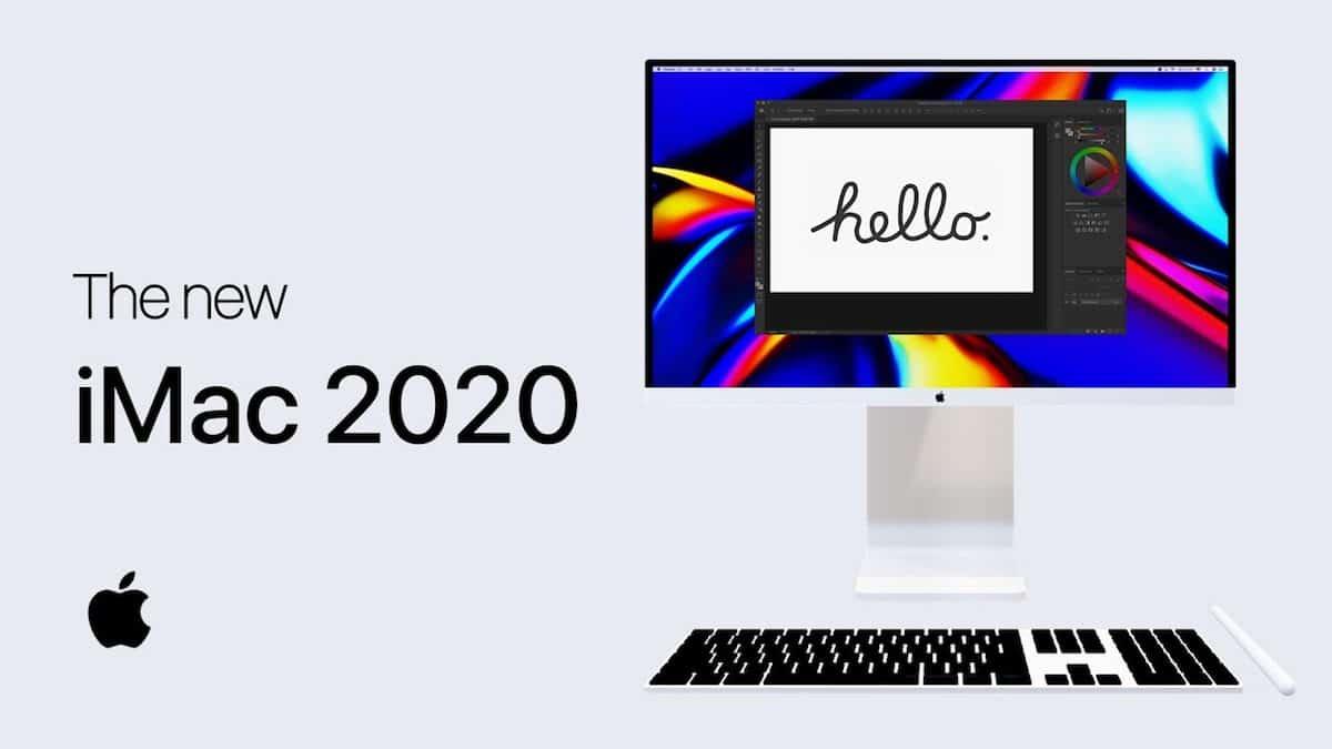 Concepto iMac 2020