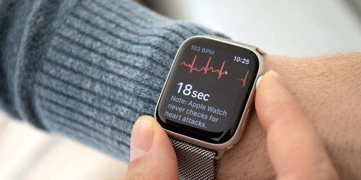 La función ECG del Apple Watch salva una vida en Euriopa