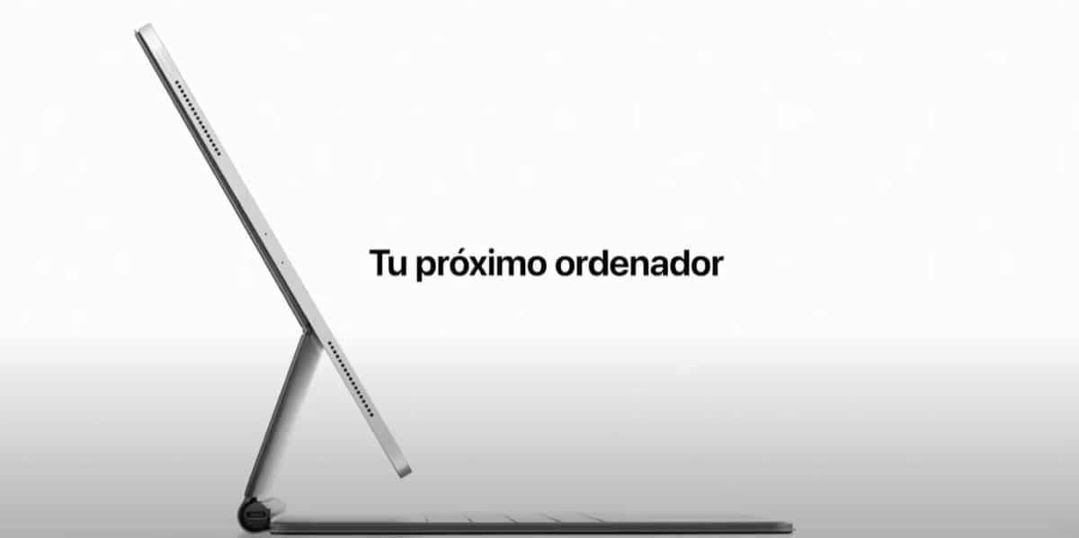 iPad Pro anuncio