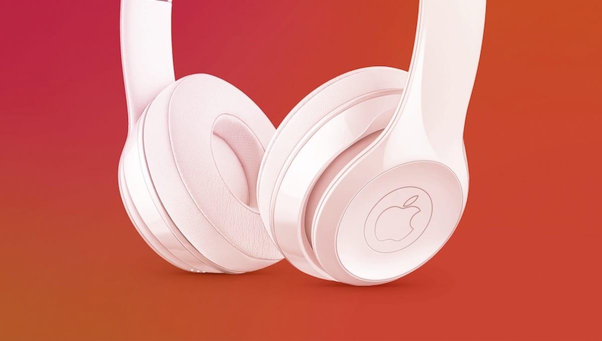 Los probables recientes auriculares de Apple, los AirPods Studio`