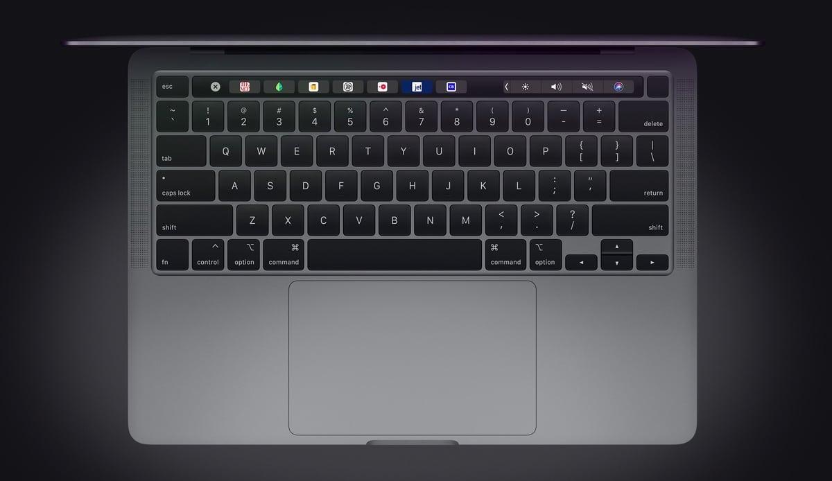 Nuevo teclado en el MacBook Pro de 13 de 2020