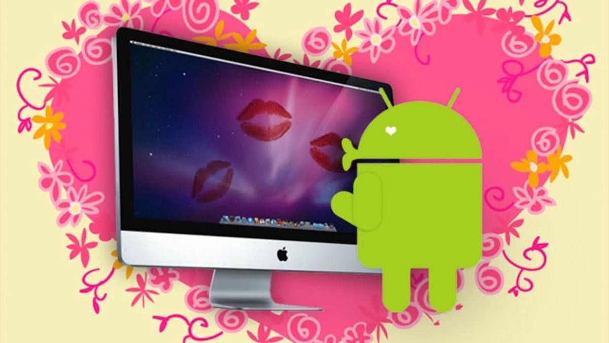 Sincronizar Android y macOS