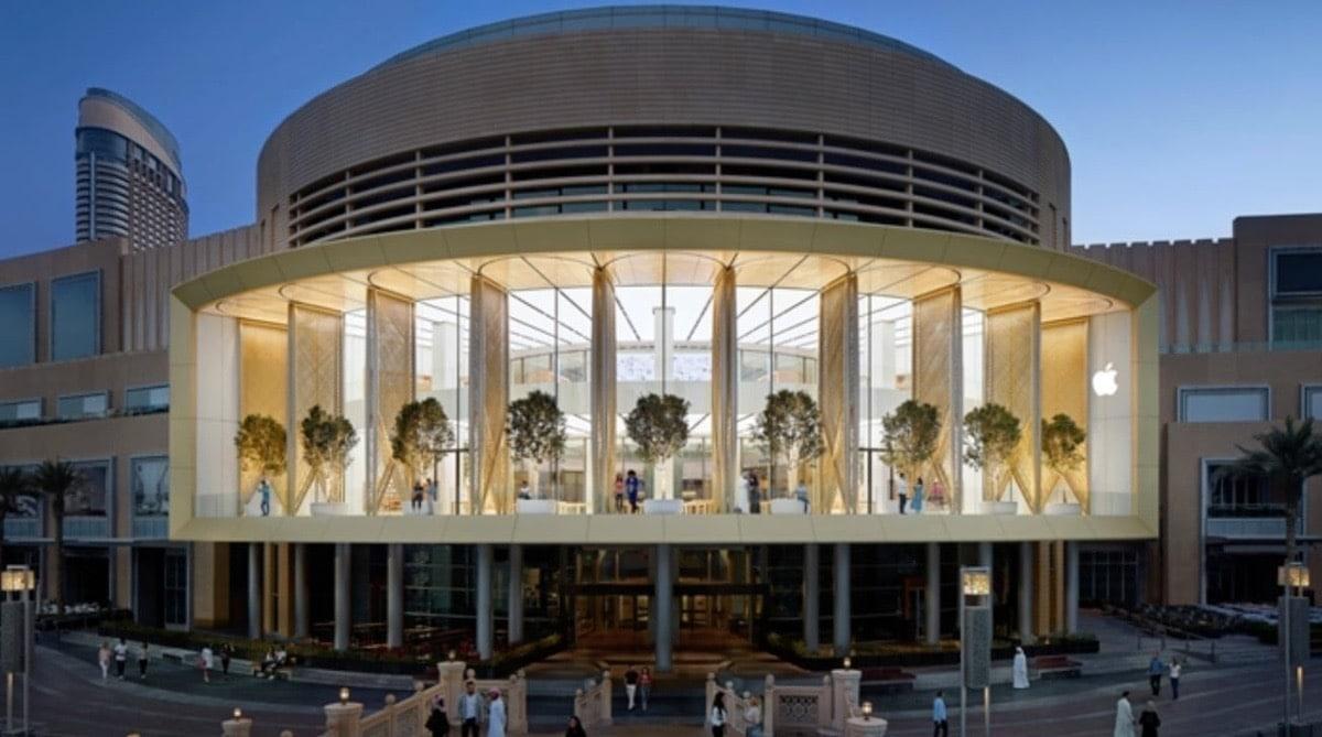 Las Apple Satore de Emiratos reabren el 8 de Junio