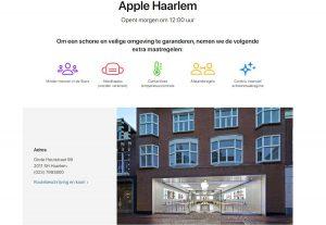 Las Apple Store de Suecia y Holanda reabren el día 10 de Junio