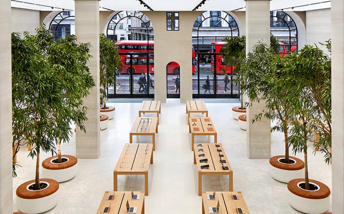 Las Apple Store de Reino Unido abren el lunes