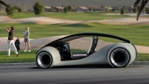 El coche autónomo de Apple y sus sensores en una patente