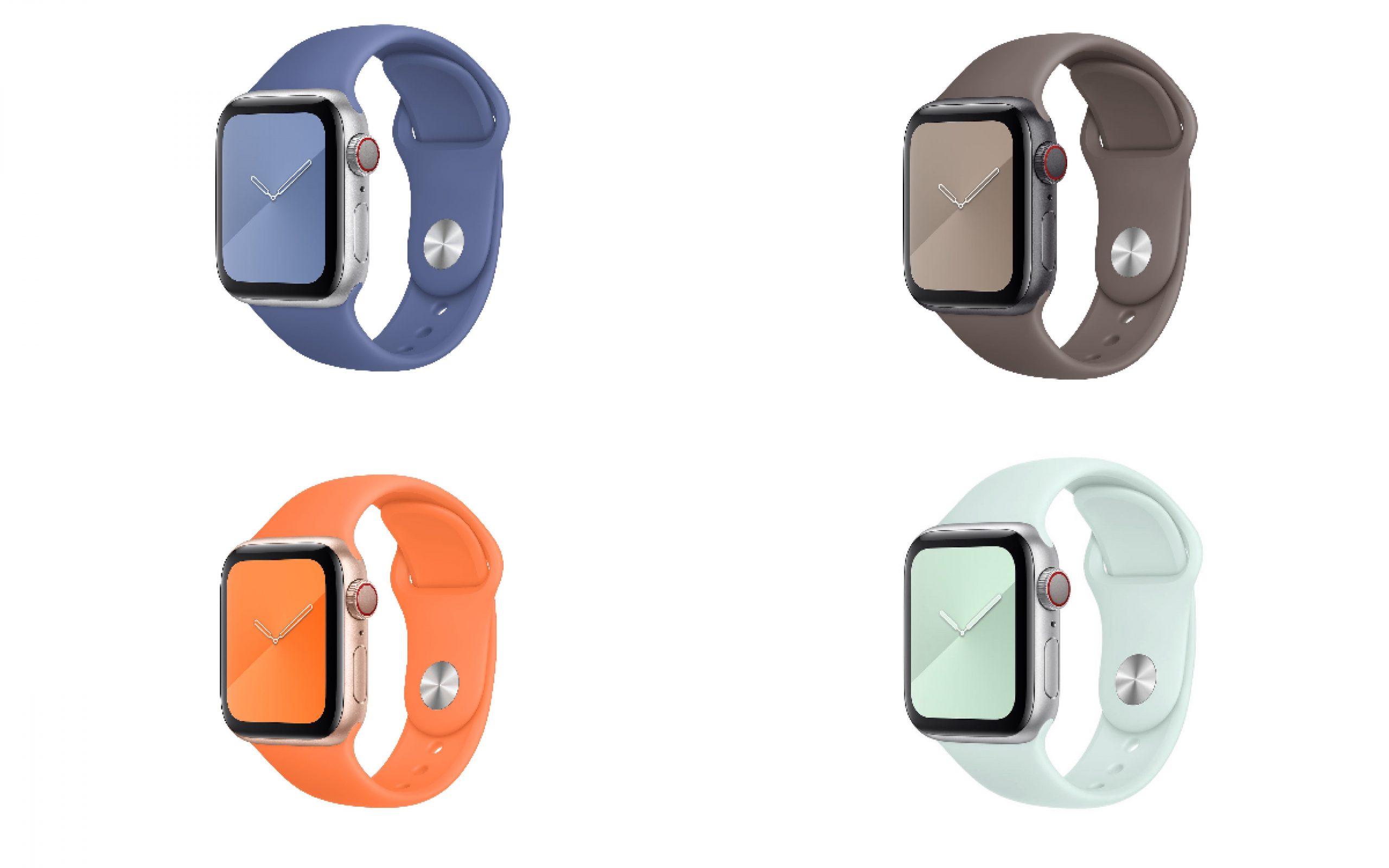Nuevas correas del Apple Watch para este verano
