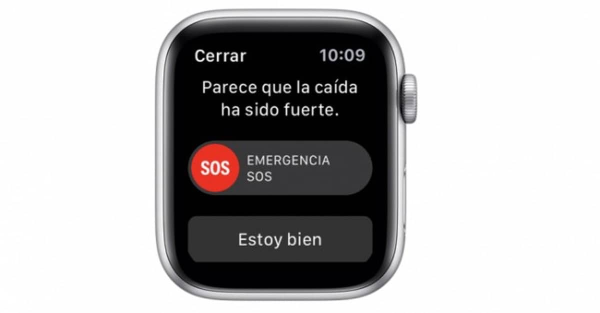 El Apple Watch y su función de detección de caidas