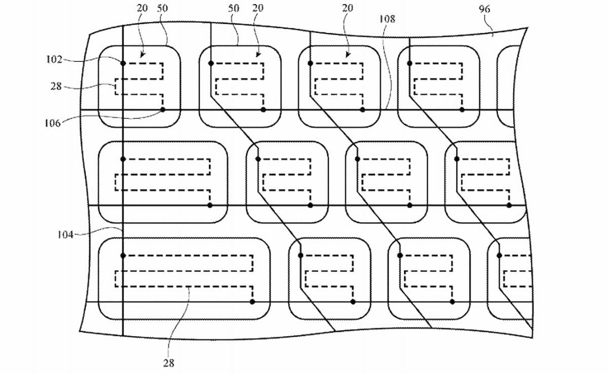 Piezas electricas para hacer unas correas inteligentes en el Apple Watch