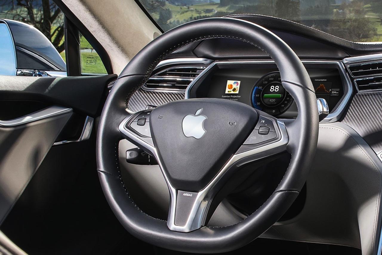 Los sensores del coche autónomo de Apple podrían trabajar coordinados