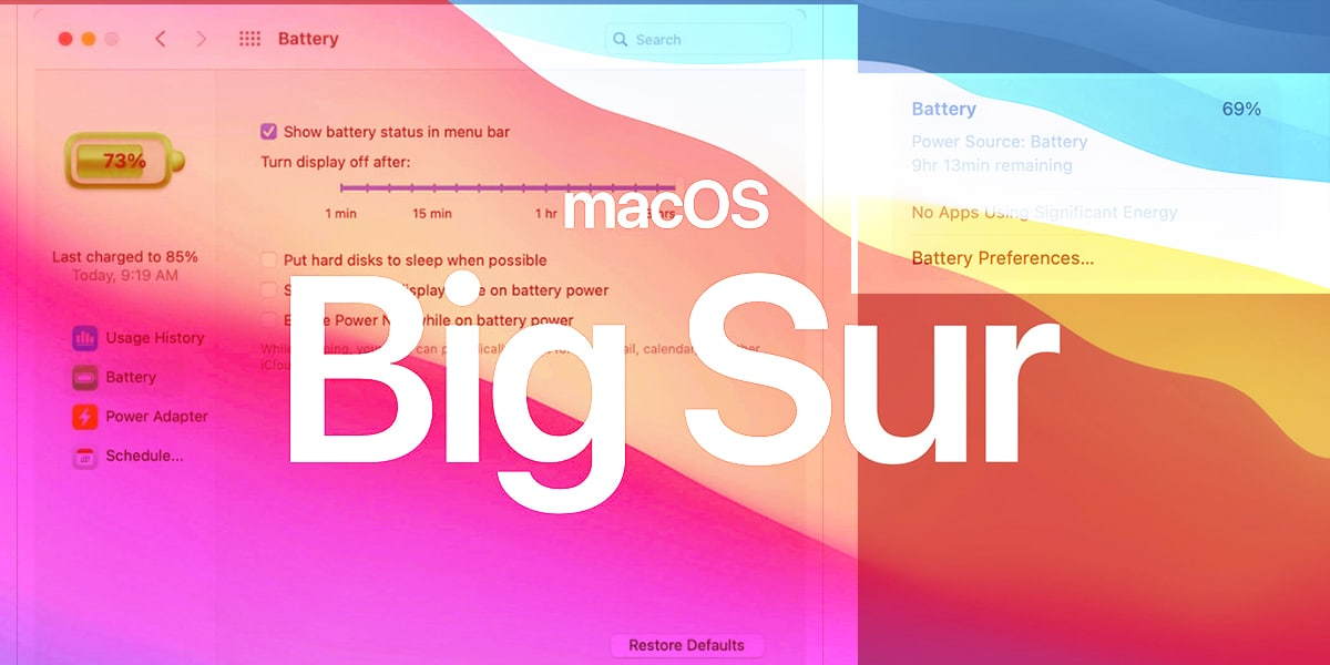 macOS Big Sur 11.0.1 Candidate ya disponible
