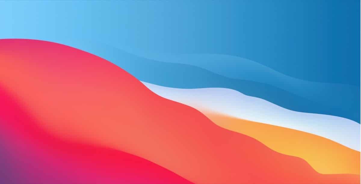 Fondo pantalla macOS Big Sur