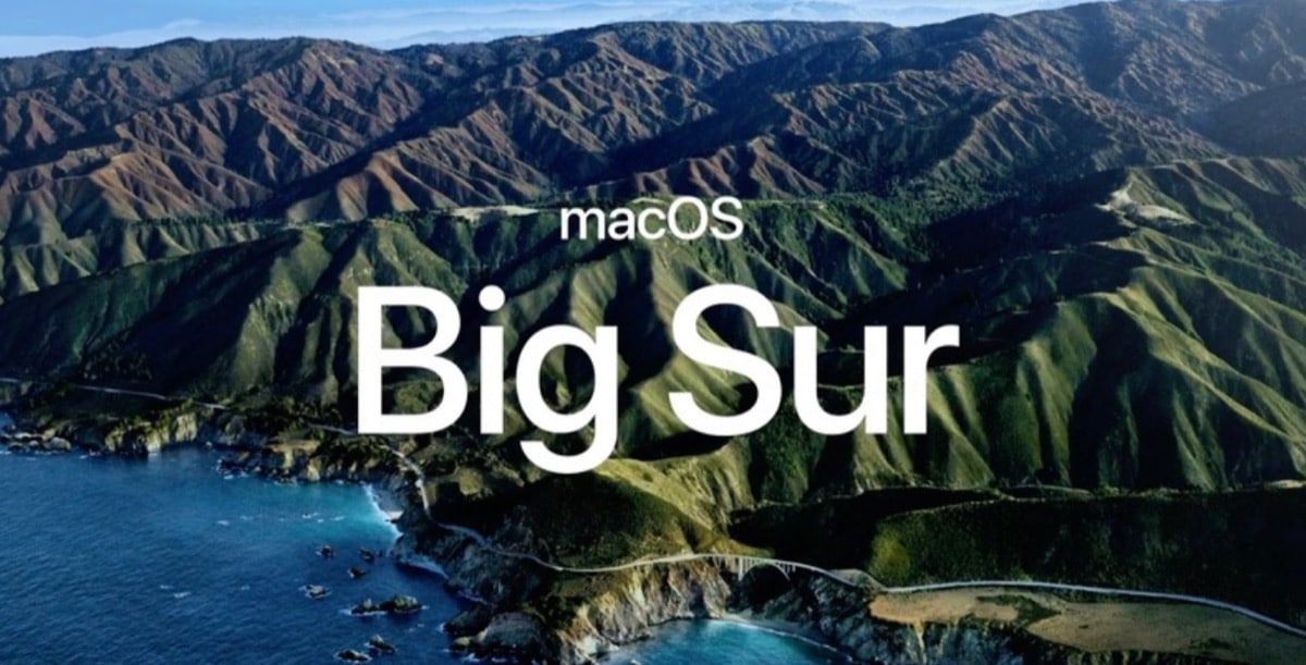 macOS once Big Sur